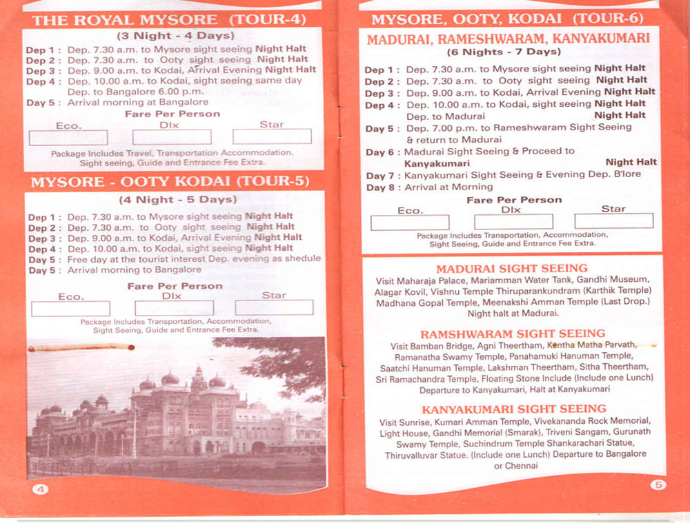 Chennai Tours Travels - Direct Tour Operators ( Reg  Govt of